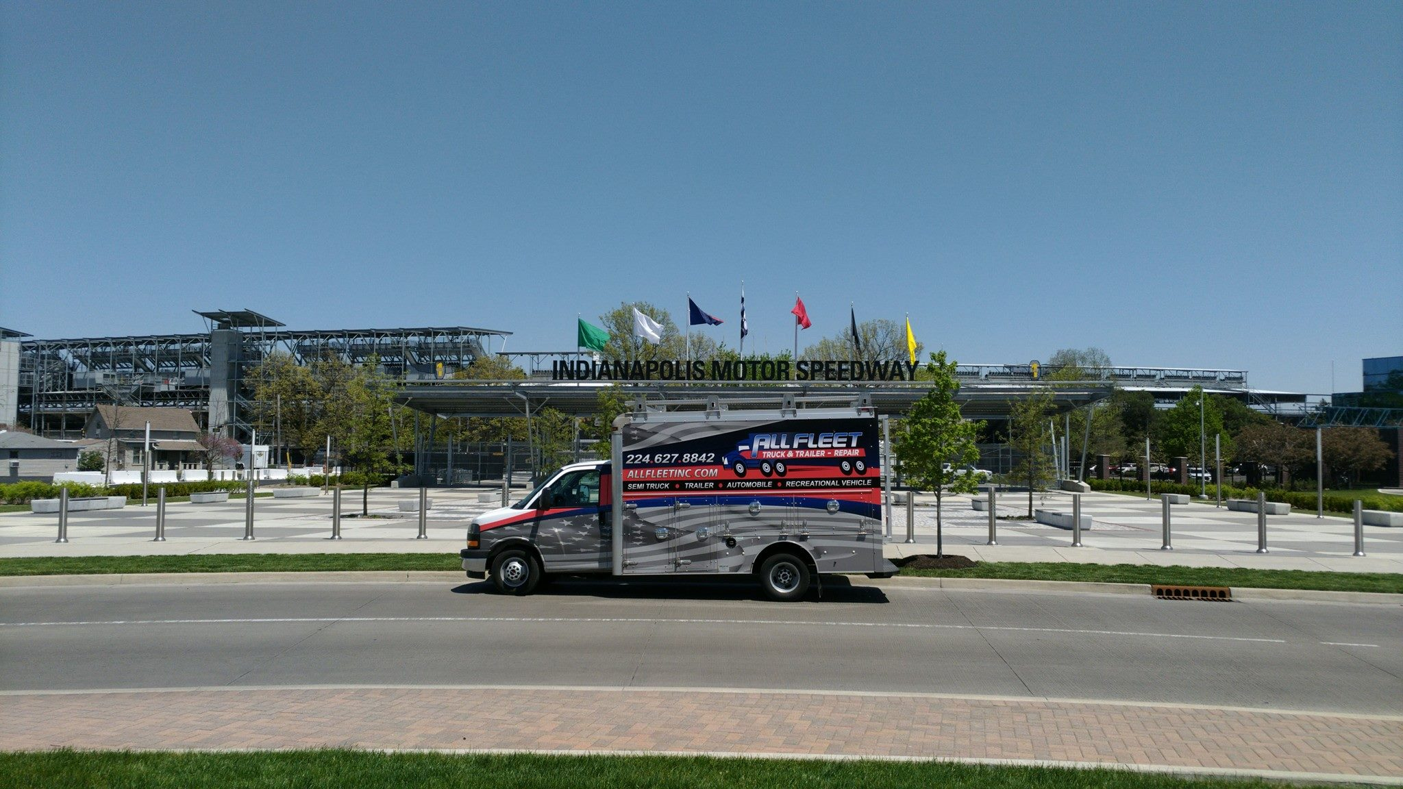 All Fleet Mobile Truck by Indianapolis Motor Speedway