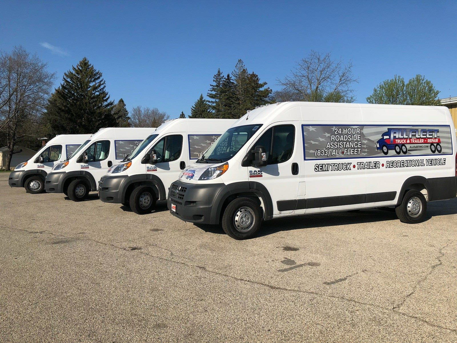 New All Fleet Mobile Trucks